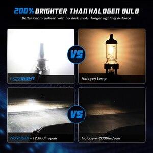 Image 3 - NOVSIGHT Car Projector Headlight H7 Led H7 H11 9005/9006 9012 D5 D2/D4 D1/D3/D8 90W 12000LM 6500K Auto Headlamp Fog Light Bulbs
