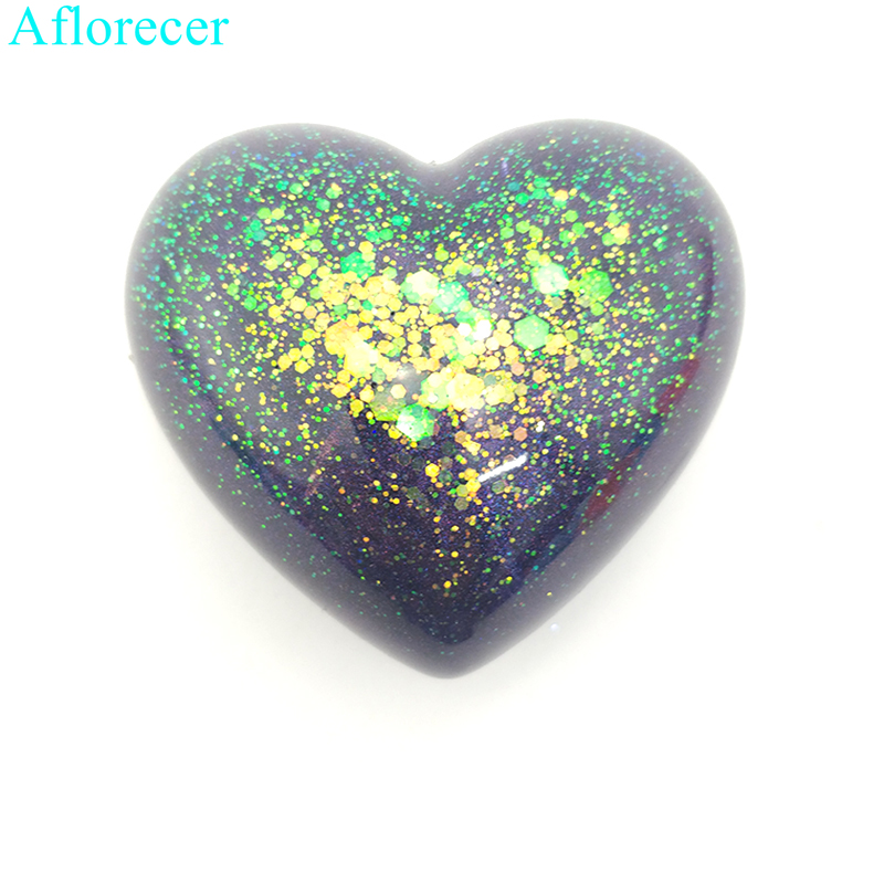 Heart silicone mold 3d heart aroma gypsum plaster silicone mould diy molds FG