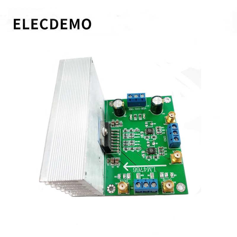 LM4766 وحدة مضخم الصوت المزدوج 30 واط مكبر كهربائي الجهد العالي عالية الحالية واسعة الجهد المدى وظيفة التجريبي