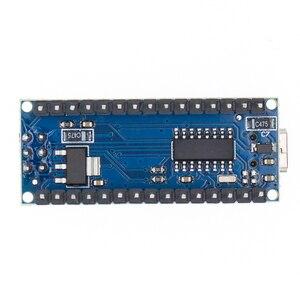 Image 4 - 100 pièces Nano 3.0 ATMEGA328P contrôleur compatible avec pour nano CH340 USB pilote 16Mhz pas de câble pour arduino