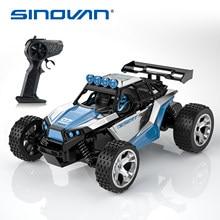 Sinovan 1:18 rc carro fora de estrada caminhão de alta velocidade controle remoto carros crianças presente aniversário escalada mini veículo modelo buggy
