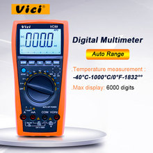 VICI VC99 3 6/7 オートレンジデジタルマルチメータ 1000V 20A DC AC 電圧電流抵抗容量テスター