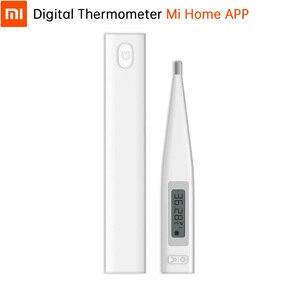 Image 1 - Originele Xiaomi Mi Digitale Thermomether Medische Ondersteuning Mi Thuis App Quick Nauwkeurige Modus Weten Sneller Nauwkeurige Orale Oksel Maatregel