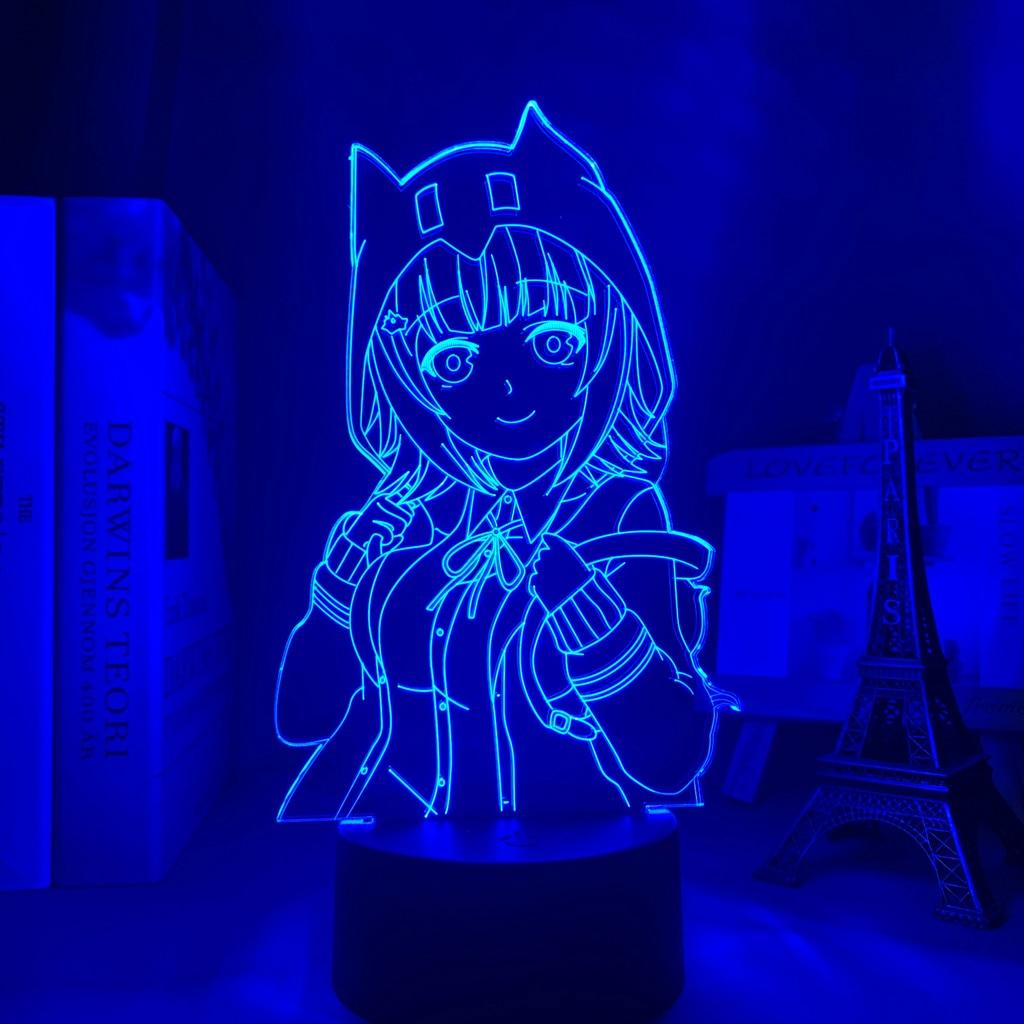 Ha175f6c43e6f47d59608369f5405b621d Luminária Danganronpa chiaki nanami led night light lâmpada para decoração do quarto crianças presente danganronpa acrílico 3d lâmpada chiaki nanami