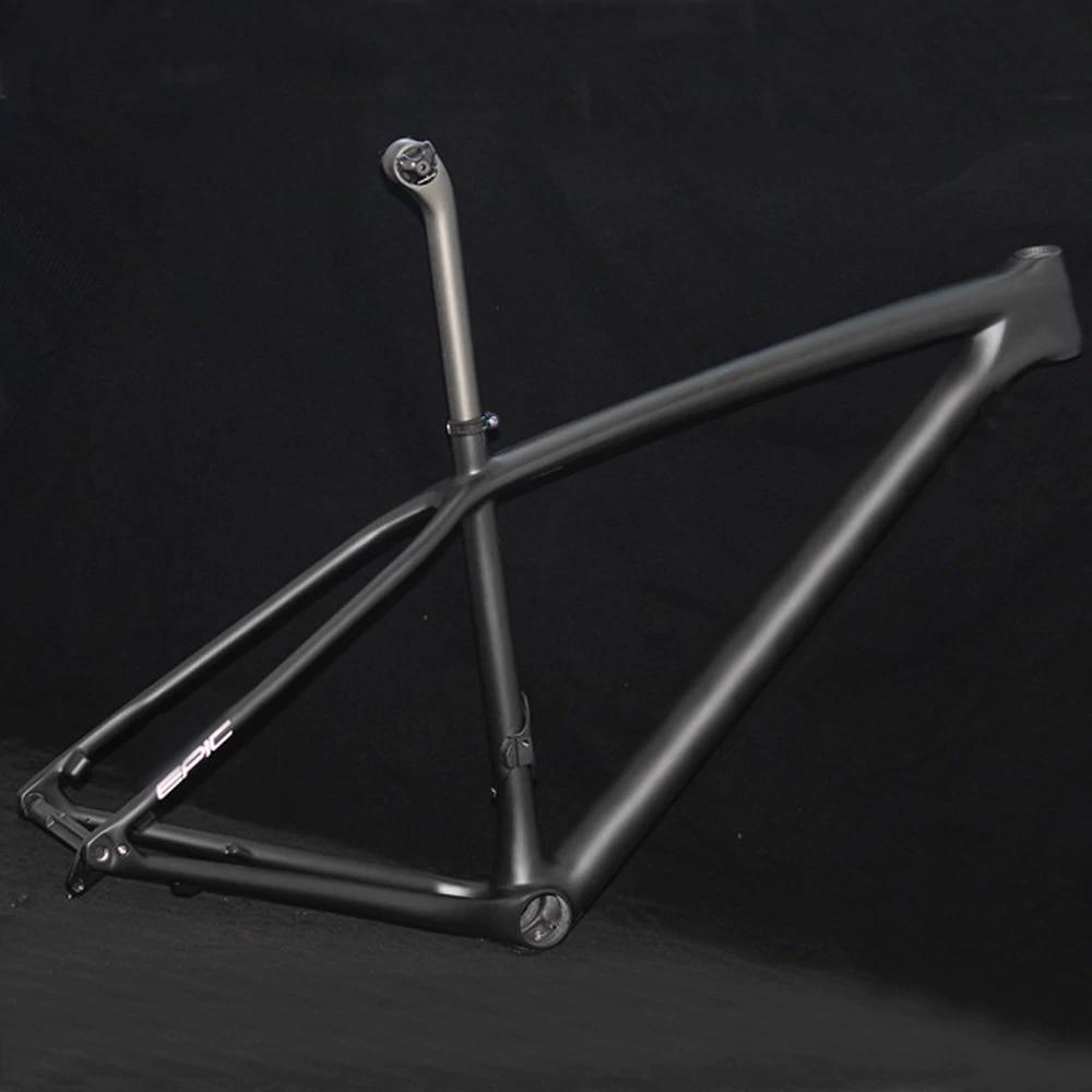 XC BOOST 148*12 MTB Frame Disc-Brake Carbon-Mtb-Frame Mountain-Bike Matte Black T1000 UD Light S-M-L PF30 Frameset