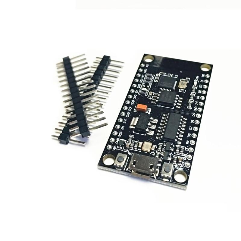 NodeMCU V3 Lua WIFI module integration of ESP8266 + extra memory 32M Flash, USB-serial CH340G for Arduino