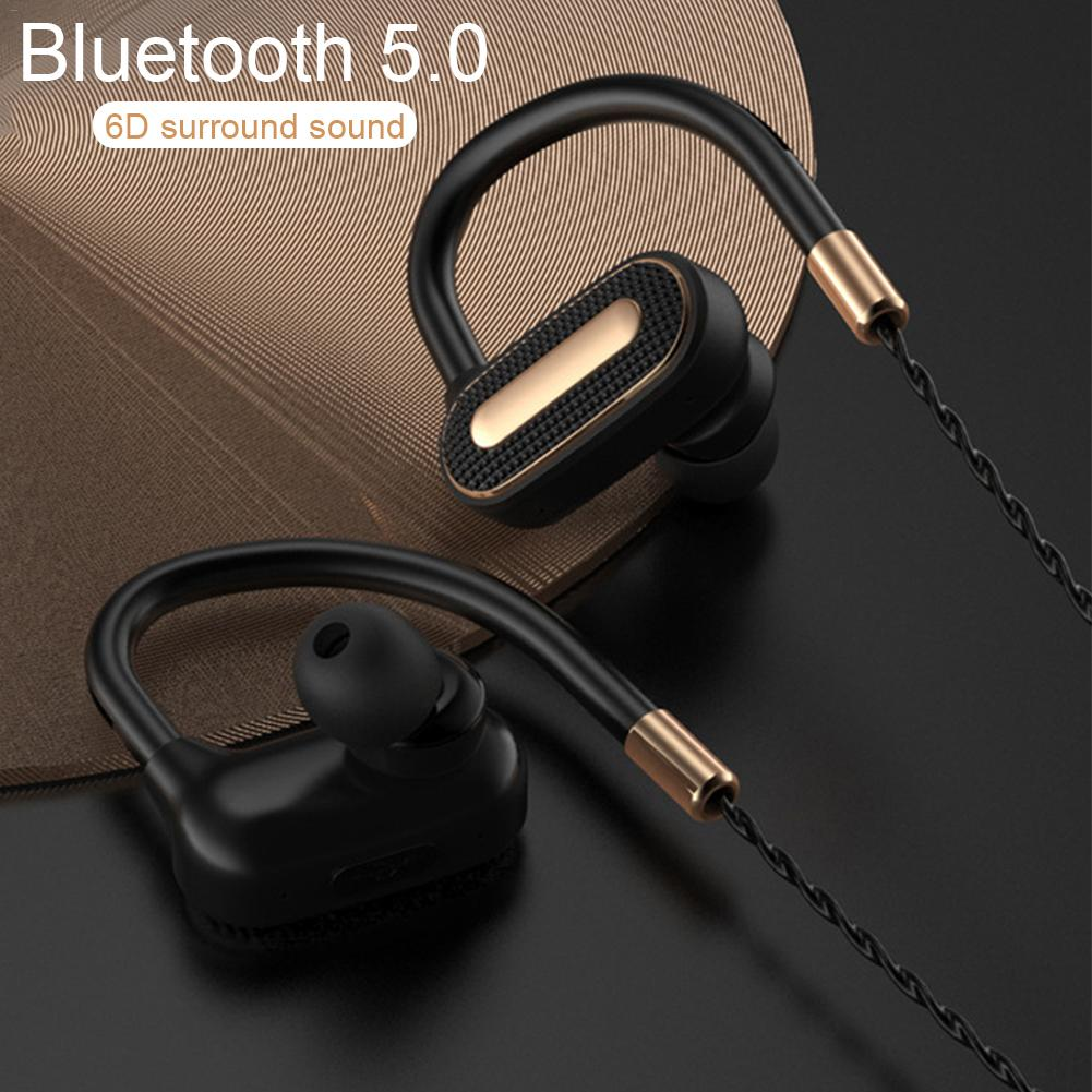 SMA 23 Bluetooth Headphones Waterproof Wireless Sport Earphones For Gym Jogging IPX7 Waterproof Bluetooth 5.0 Earphones