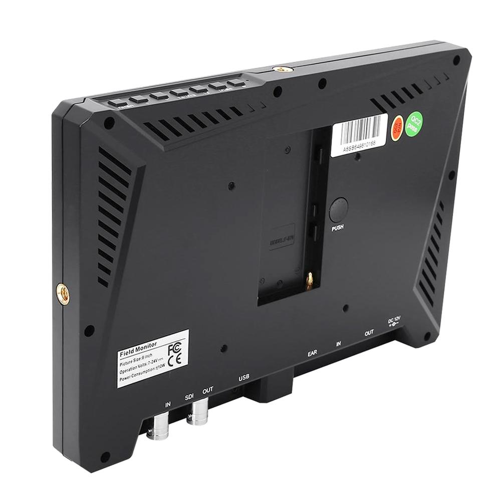 """LILLIPUT A8 A8S 8.9 ypač plonas """"IPS Full HD 1920 * 1200 4K HDMI - Fotoaparatas ir nuotrauka - Nuotrauka 3"""