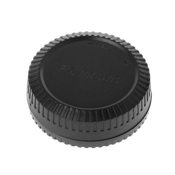2019 New Rear Lens Body Cap Camera Cover Anti-dust Protection Plastic Black for Fuji Fujifilm FX X Mount image