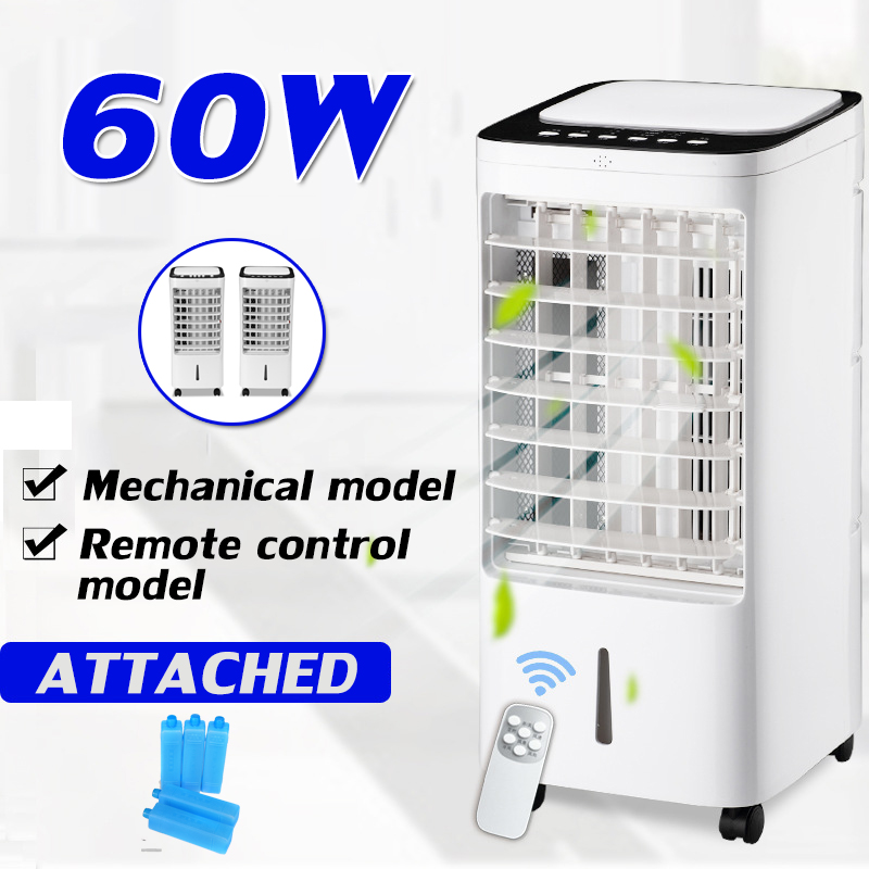 60W 220V Portable Air Conditioner Conditioning Humidifier Purifier Cooler Cooling System Home Timing Air Conditioner Cooling Fan