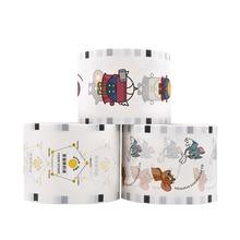 Cover-Lids Paper Plastic Disposable Custom 95 Pierce-It-Lite-To-Seal-1500pcs 90mm-Cups-Membrane