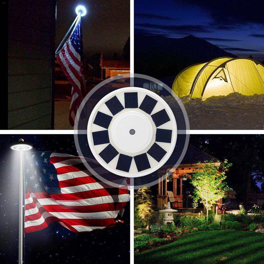 Luz de mastro 24 LED Bandeira Mastro