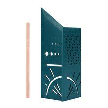 Holzbearbeitung 3D 90 Grad Platz Gauge Winkelmesser Über T-Typ Herrscher Winkel