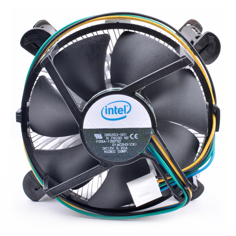 Brand new original F09A-12B7S2 D95263-001 intel CPU 1155/1150/<font><b>1156</b></font> <font><b>cooler</b></font> cooling fan image