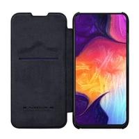 Para Samsung Galaxy A50S funda Nillkin QIN funda protectora cartera Flip funda para Samsung Galaxy A30S A30 A50 Funda de cuero|Fundas con tapa| |  -