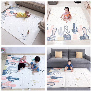 Image 5 - Infant Shining XPE Baby Play Mat Crawling Pad Folding Thickening  Environmental Protection Household Children Floor Mat