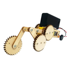 Electric Gears Car Kids DIY Science Project Toys Technology Fun Physics Experiment Kits STEM Education Gift