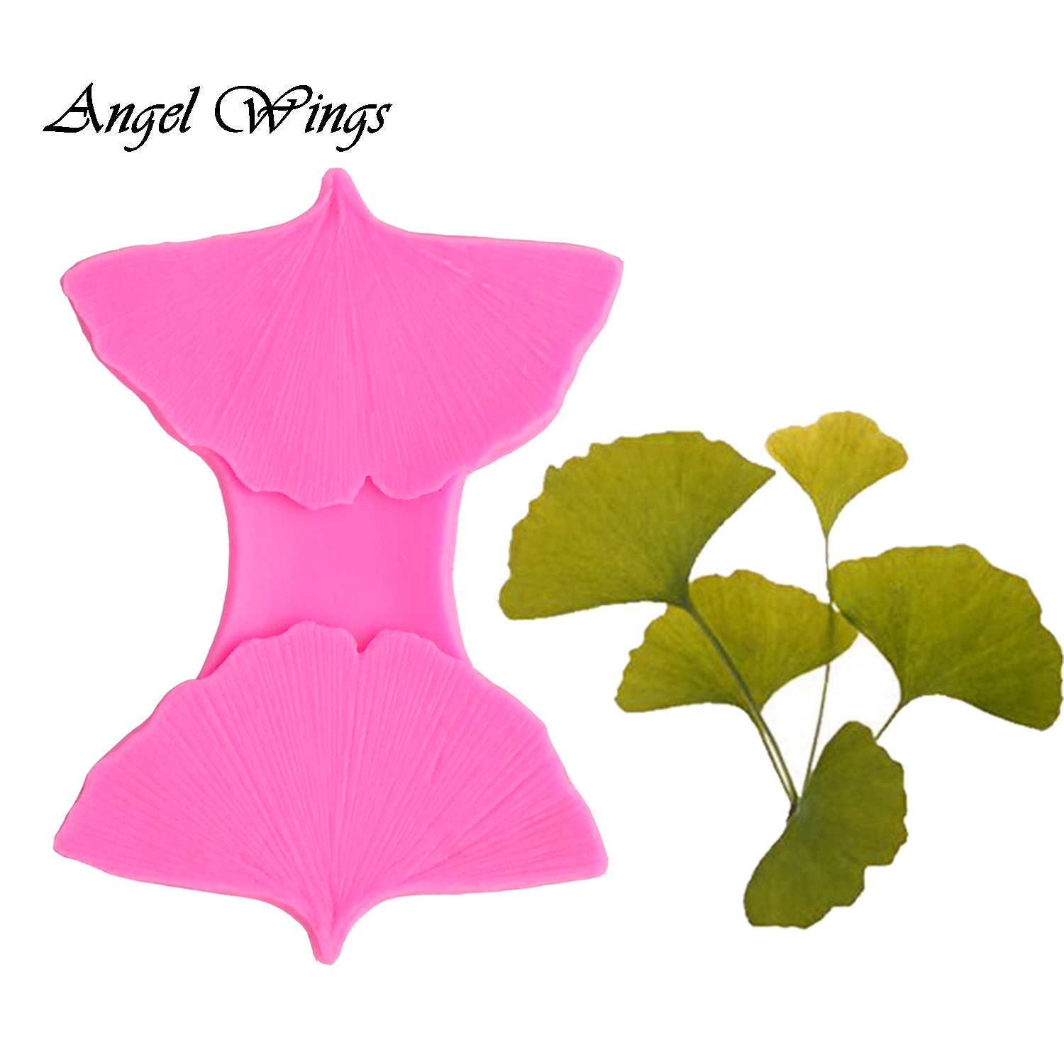 Ginkgo leaves petal Silicone mold for cake decorating tools chocolate Resin Molds Fondant Sugar Craft Molds DIY Cake F1419