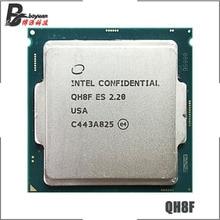 Intel Core I7 Es QH8F 2.2 GHz Quad Coreแปดด้ายCPUโปรเซสเซอร์L2 = 1M L3 = 8M 6700K 6400T LGA 1151