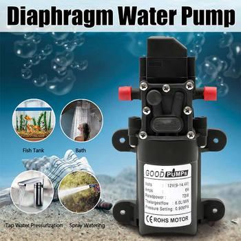 DC 12V 130PSI 6l / Min High Pressure Water Pump, Diaphragm Water Pump, Self-priming Pump Automatic Switch 24v dc 6l min 80w self priming high pressure mini diaphragm pump