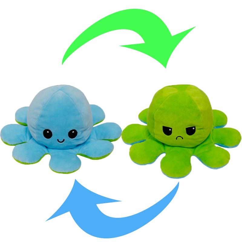 Reversible Octopus Stuffed Toy12