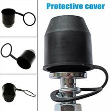1х ПВХ черный фаркоп мяч буксировочный колпачок крышка буксировочная сцепка прицеп Защитная крышка