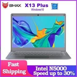 Newest Laptop BMAX X13PLUS 13.3 Intel Pentium Silver N5000 1920x1080 IPS Notebook 4GB RAM 64GB ROM Laptops Windows 10 Computer
