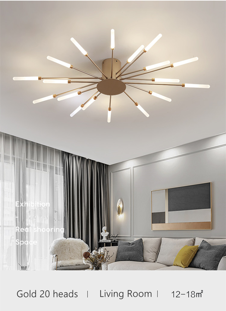 decoração interior lâmpadas teto casa quente luminarie