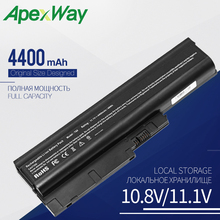 Apexway Laptop Battery For Lenovo Thinkpad R500 T500 W500 SL500 For IBM Lenovo ThinkPad R60 R60e R61 R61e R61i T60 T60p T61 недорго, оригинальная цена