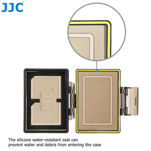 Image 3 - JJC Camera Battery Holder Case Bag for Canon LP E6 LP E6N LP E17 Sony NP FW50 Fujifilm NP W126 Case SD MSD TF Card Storage Box