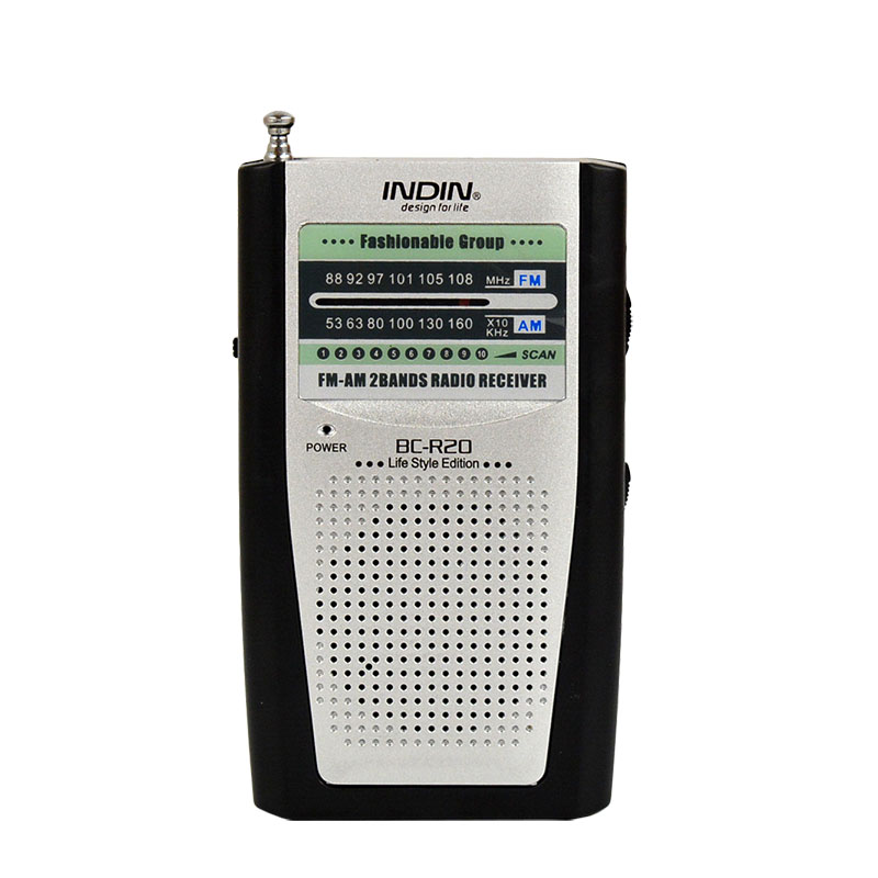 Portable <font><b>Radio</b></font> For Elderly AM/FM <font><b>Built</b></font> <font><b>In</b></font> Speaker Vintage Pocket Mini <font><b>Radios</b></font> Universal AM FM World Receiver BC-R20 High Quality image