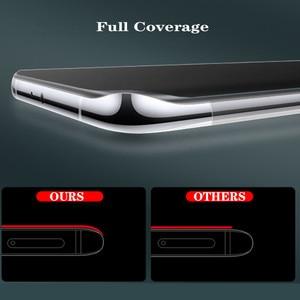 Image 4 - 3PCS אין טביעת אצבע מט הידרוג ל סרט לxiaomi Poco X3 פרו NFC F3 הגלובלי גרסה M3 X3pro NFS X 3 מסך מגן רך סרט