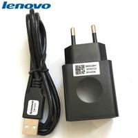 Lenovo-cargador USB Original, adaptador de pared con enchufe europeo, 1M, Cable de datos Micro usb, 5V, 2A, para Lenovo Vibe P2, P1, k3, K5, S5 Pro, S5830