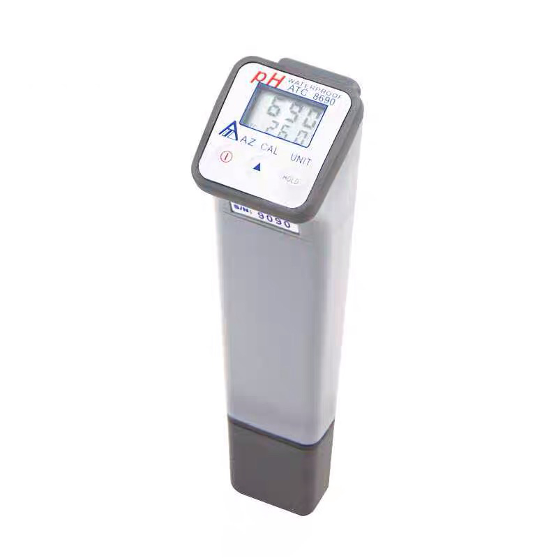 AZ-8690 Water PH Tester 0-14 Water Quality Monitor PH Tester IP66 Water Proof PH Accuracy +/-0.05