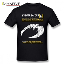 Cylon Raider Manual Men T Shirt New Swag 4XL 5XL 6XL O-neck Cotton Short Sleeve Custom Tee Shirts Homme