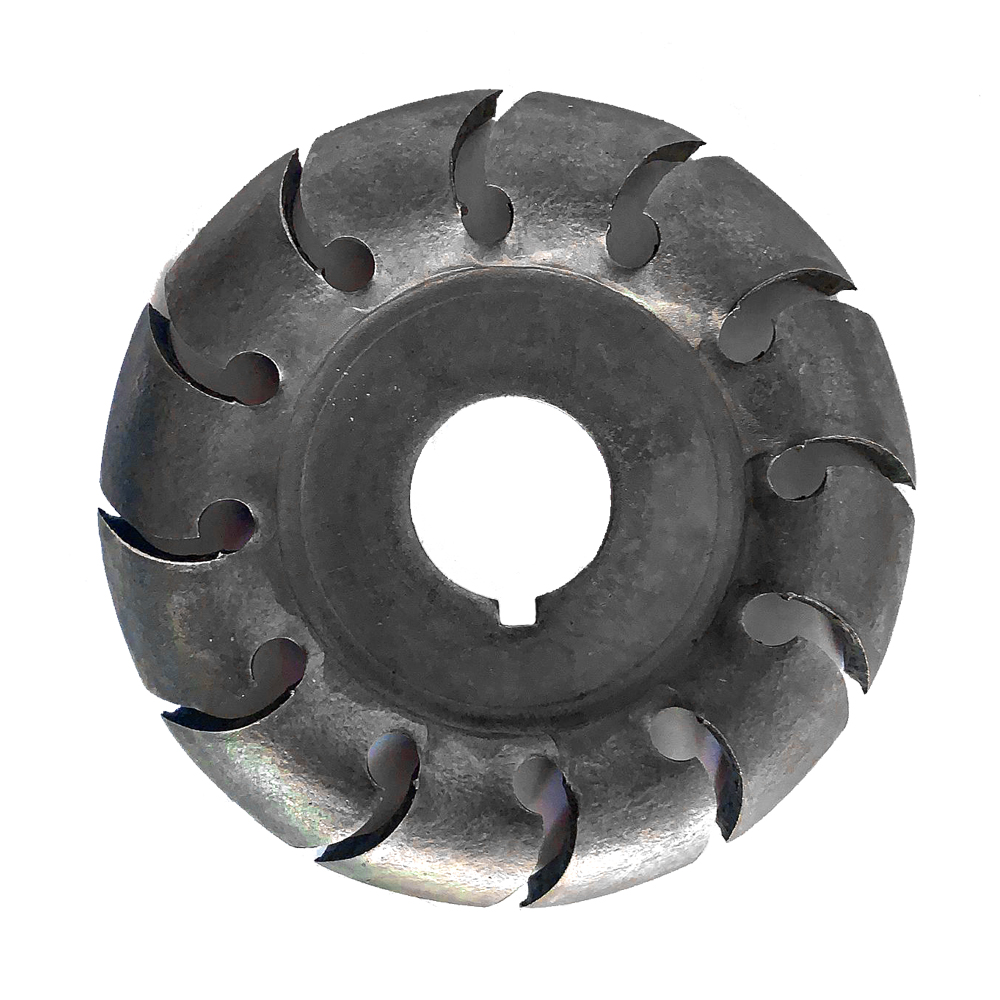 Multifunctional Wood Carving Disc 12 Teeth 16mm Bore Hole 65mm Diameter Wood Shaping Angle Grinder Woodworking Tool