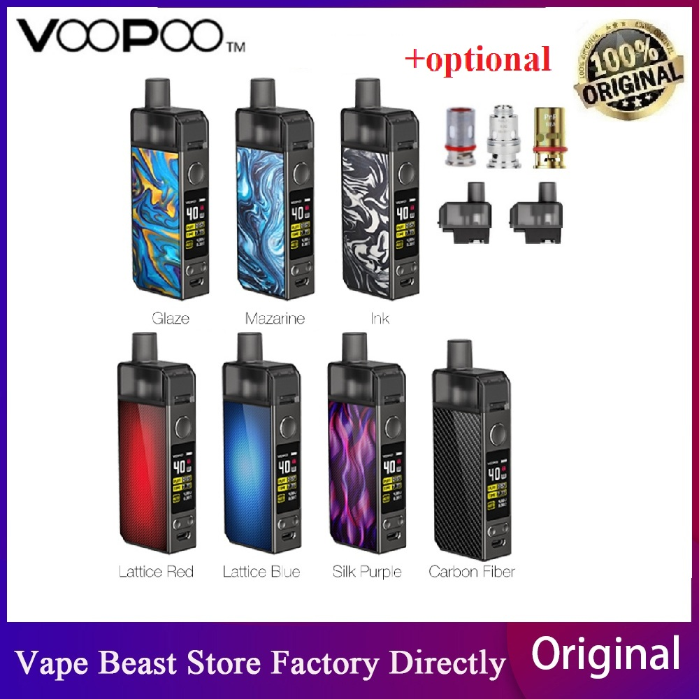 Newest Original VOOPOO NAVI Pod Kit With 1500mah Battery & 3.8ml Pod GENE.AI Chip &  40W Navi Mod E-cig Vape Pod Kit VS Vinci X