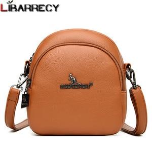 Simple Women Leather Mini Crossbody Bag Designer Elegant High Quality Shoulder Bag Fashionable Travel Female Shopping Bag Bolsa
