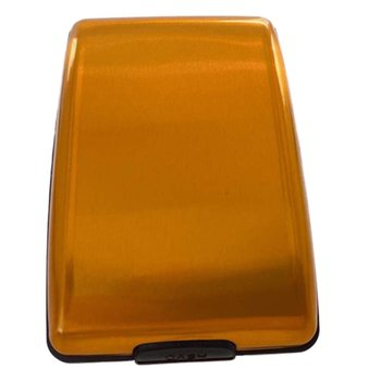 RFID portfel ze stopu aluminium wielofunkcyjne etui na karty aluminiowe etui na karty bankowe etui na karty moda portfel na karty bankowe etui na wizytówki etui na karty tanie i dobre opinie NAI YUE CN (pochodzenie) Convenient lock catch
