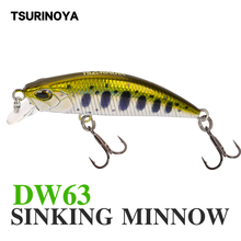TSURINOYA Sinking Minnow Bait 5cm 5g Fishing Hard Swimbait Lures 3D Eye Lures with Movable Steel Balls Mini Minnow Fishing Lure new tsurinoya dw63 3pcs lot 50mm 5g sinking minnow hard bait fishing lures mini minnow crankbait treble hook artificial bait