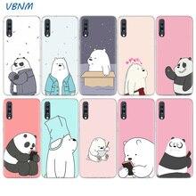 Cute Cartoon We Bare Bears Panda Soft Case For Samsung Galaxy A70 A50 A20E S10E S10 Plus A40 A30 A20 A10 A60 A80 M40 M30 M20 M10