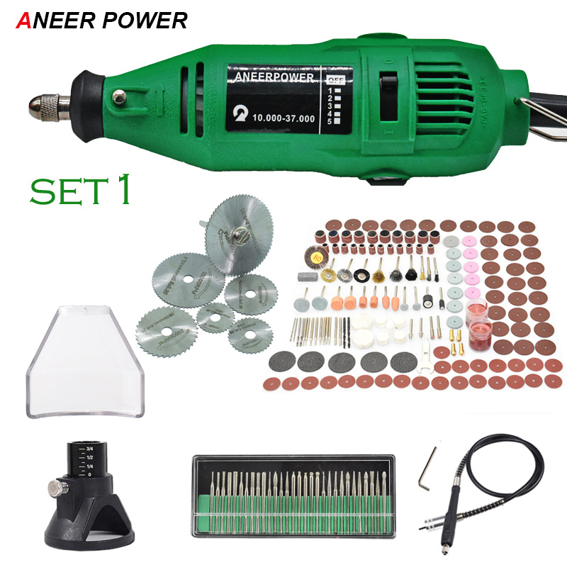 Engraver Dremel Mini Drill 180W Mini DIY Drill Machine Engraving Pen Grinder Mini Electric DIY Drill Rotary Tool Polishing Grind