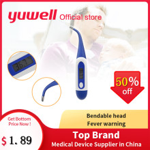 Yuwell YT308 Electronic LCD Thermometer Digital Baby Adult Medical Thermometre Body Fever Temperature Measuring Health Care Tool