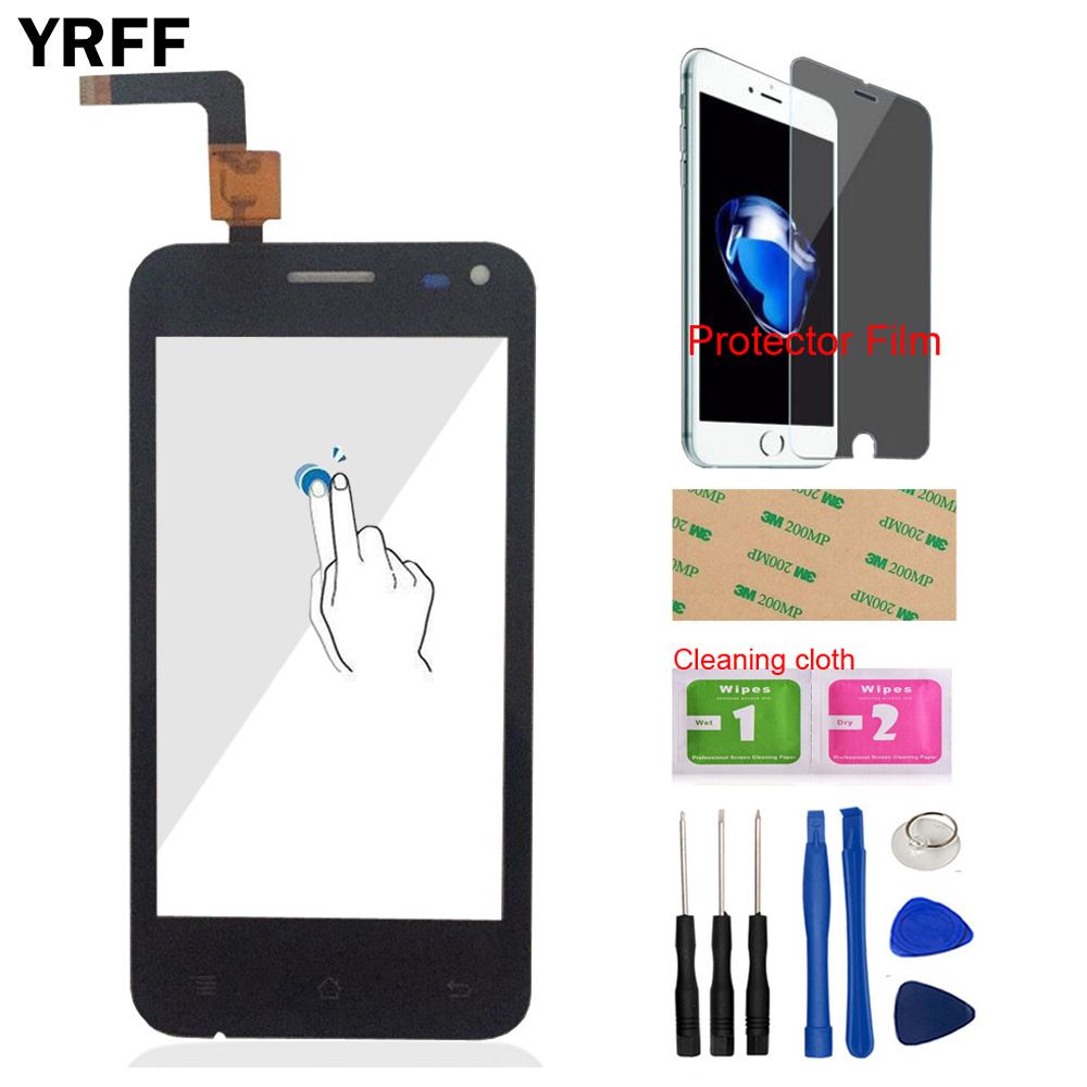 Front Touch Screen Digitizer Panel Glass For Micromax Bolt A79 Version 1.0 Sensor 4.0'' Mobile Tools Protector Film Adhesive