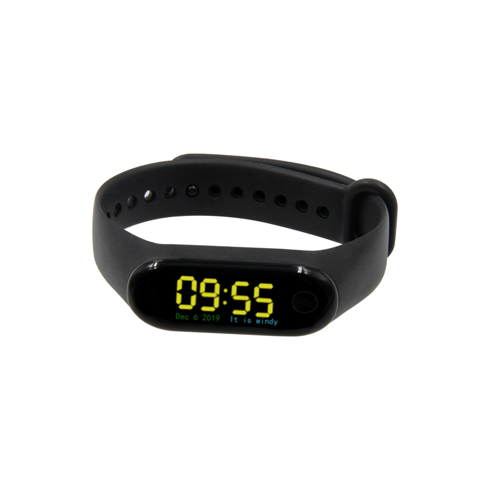 LILYGO® TTGO T-Wristband DIY Programmable Smart Bracelet ESP32-PICO-D4 Main Chip 0.96 Inch IPS Screen Silicone Bracelet Strap
