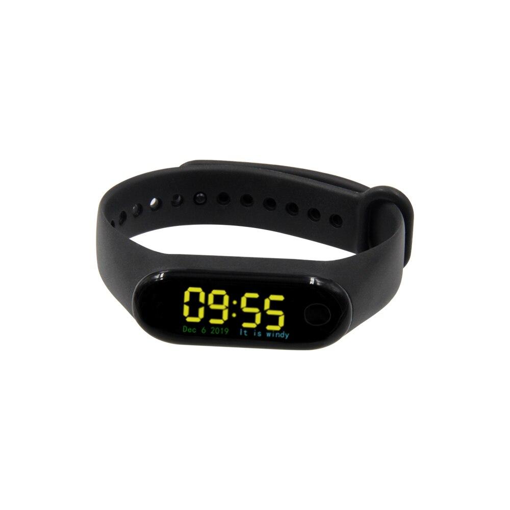 LILYGO®TTGO t-bracelet bricolage Programmable Bracelet intelligent ESP32-PICO-D4 puce principale 0.96 pouces IPS écran Bracelet en Silicone Bracelet