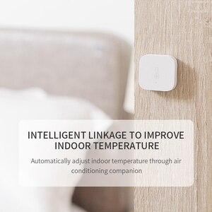 Image 4 - Aqara Temperatuur Vochtigheid Sensor Zigbee Sluit Voor Xiaomi Smart Home Deur Raam Sensor Menselijk Lichaam Sensor Werken Met Aqara Hub