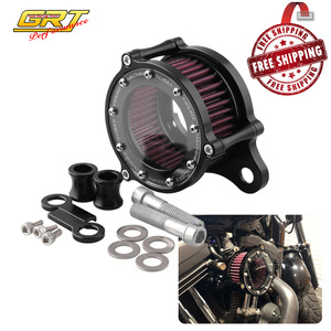 Image 1 - Motorcycle Air Filter Air Cleaner Kit CNC Intake System For Harley Sportster XL 883 XL1200 1992 1993 2016