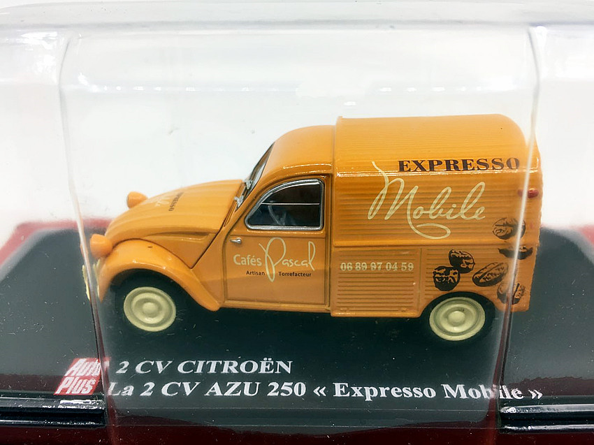 High simulation 1:43 Citroen 2CV small truck model,pickup truck toy,collection ornaments,free shipping image