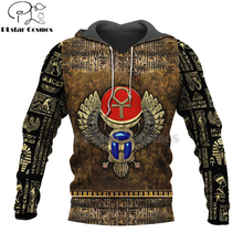 цена на Mysterious retro ancient Horus Egypt goddess Pharaoh totem 3d hoodies/Sweatshirt Winter autumn funny long sleeve streetwear-5